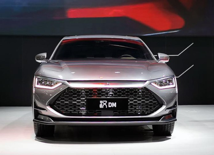 BYD HAN DM Debuted on Shenzhen Auto Show