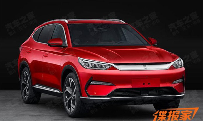 BYD Released a New SUV, or the Rumored SONG PLUS
