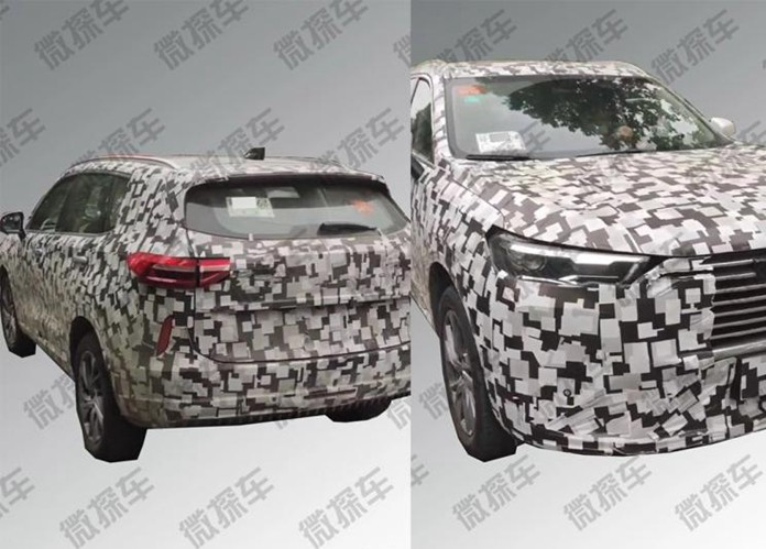 Spy Photos of new-gen Haval H6 leaks with a new style