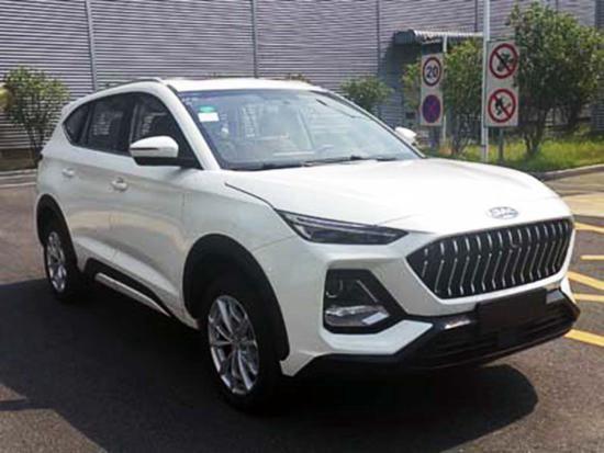 JAC Jiayue X8 real car photos appeared on China MIIT