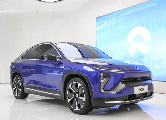 NIO EC6 Leaks in Interior At Shenzhen Auto Show, to deliver in Sep. 2020