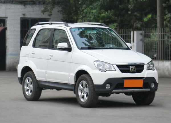 2010 Zotye 5008 Technical Specs