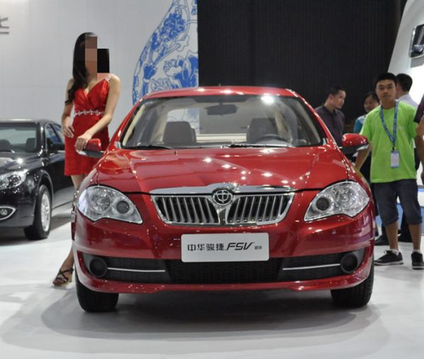 2011 Brilliance Junjie FSV Technical Specs