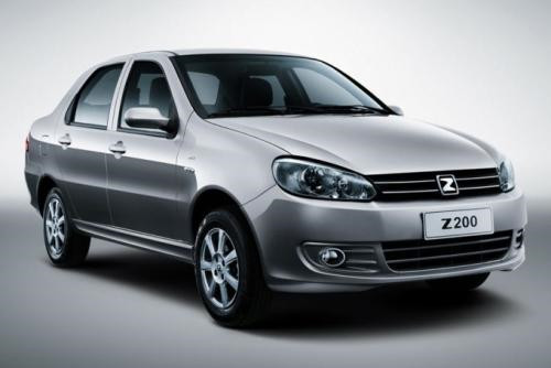 2011 Zotye Z200 Technical Specs