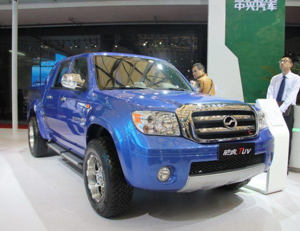2013 ZXAUTO (Zhongxing) GrandTiger TUV Pickup Technical Specs