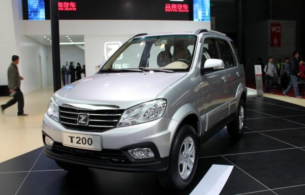 2013 Zotye T200 Technical Specs