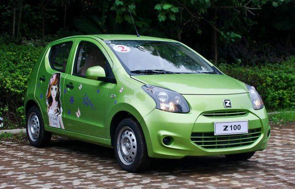 2013 Zotye Z100 Technical Specs