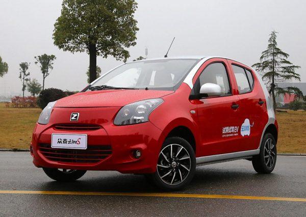 2016 Zotye Yun100 (EV) Technical Specs