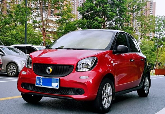 Smart Car Brand to be manufactured in China by Geely Auto