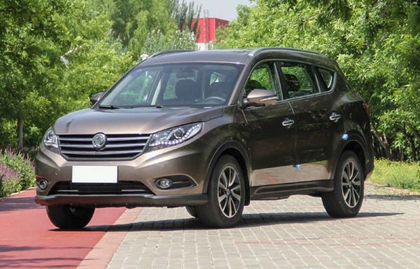 2018 Dongfeng Fengguang 580 (DFSK Glory 580) Technical Specs