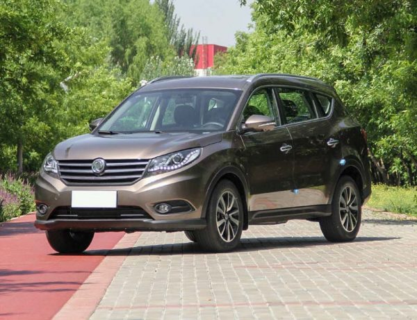 2016 Dongfeng Fengguang 580 (DFSK Glory 580) Technical Specs