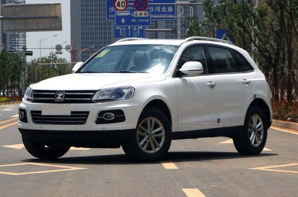 2017 Zotye T600 Technical Specs
