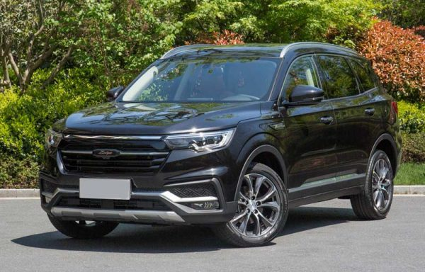 2018 Zotye T500 Technical Specs