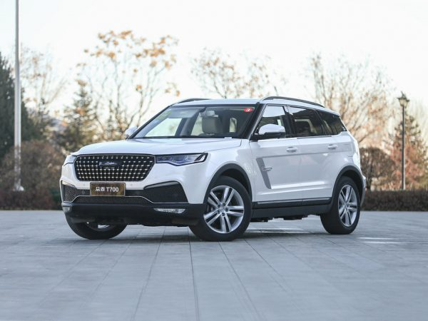 2018 Zotye T700 Technical Specs