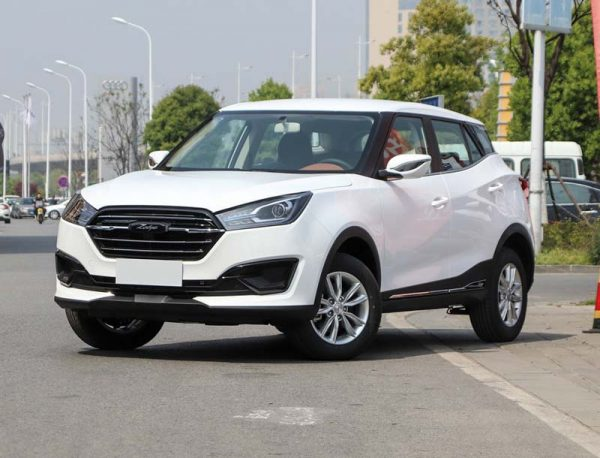 2019 Zotye T300 Technical Specs