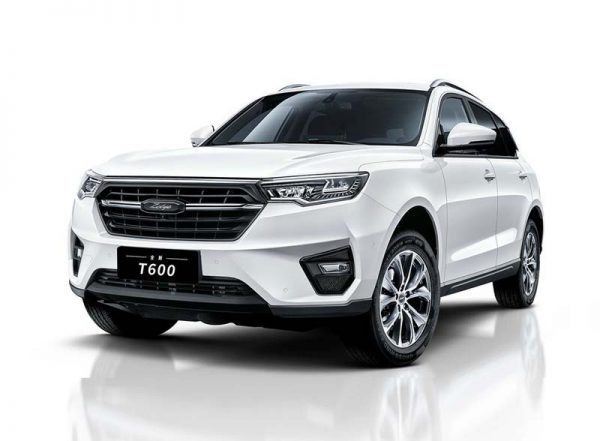 2019 Zotye T600 Technical Specs