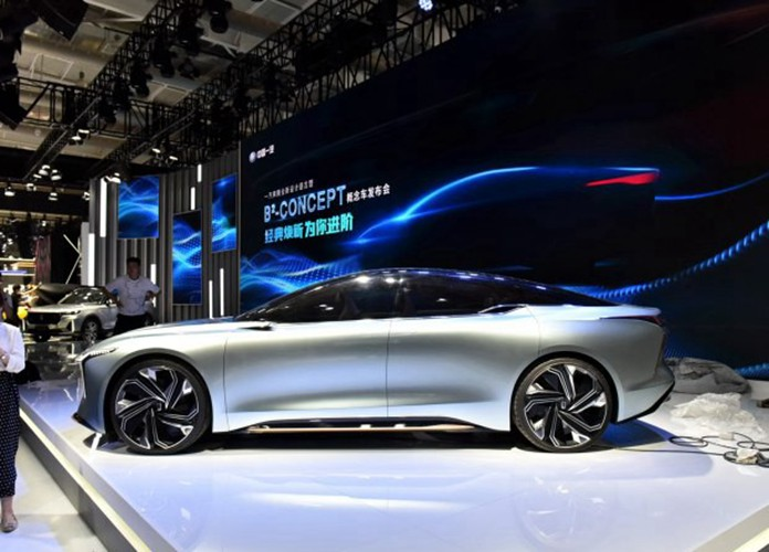 FAW Bestune Spotted all-new B²-Concept Sedan At 2020 Changchun Auto Show