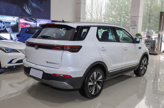 Changan CS55 EV Launched with ultra-long-range of 605km