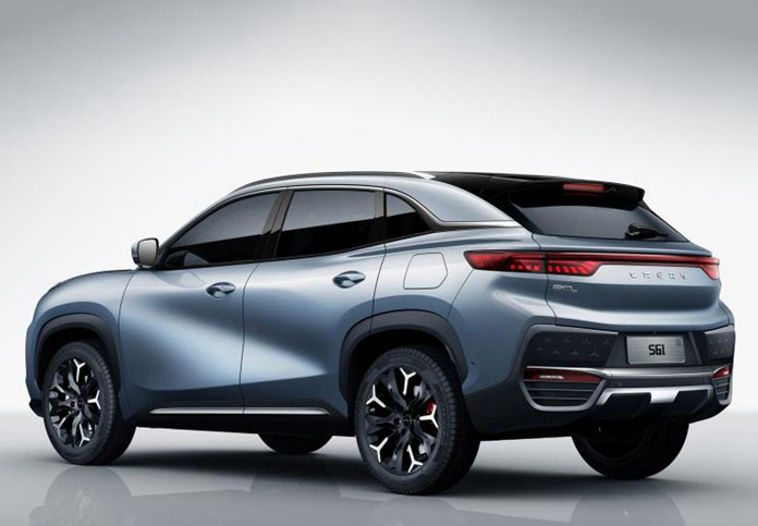 Chery New Energy Announced Official Images of Chery S61