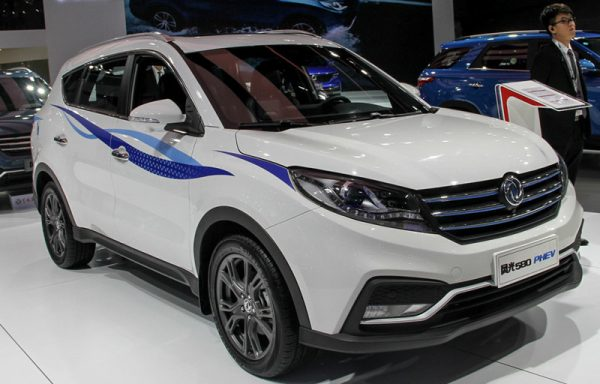 2019 Dongfeng Fengguang 580 (PHEV) Technical Specs