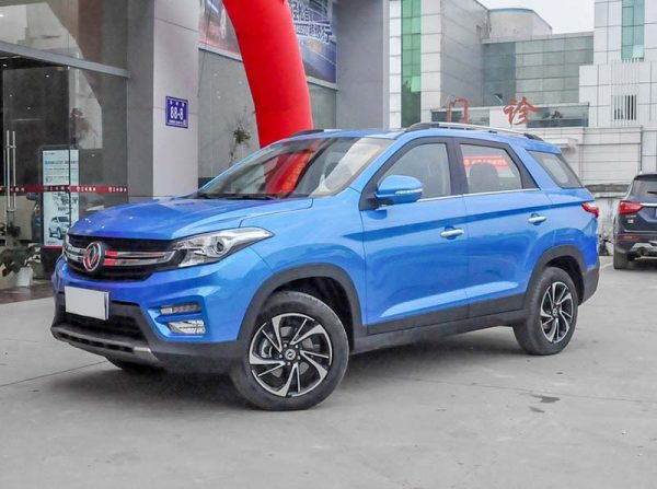 2019 Dongfeng Fengguang S560 (DFSK Glory 560) Technical Specs