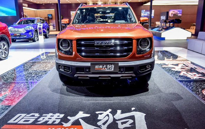 Haval Big Dog Made Debuted on 2020 Chengdu Auto Show