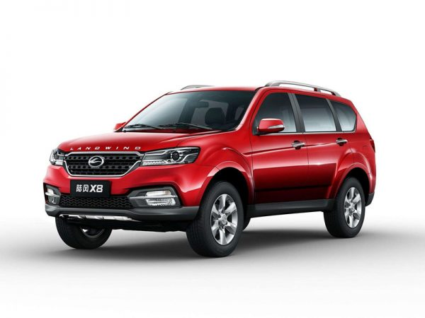 2018 Landwind X8 Technical Specs