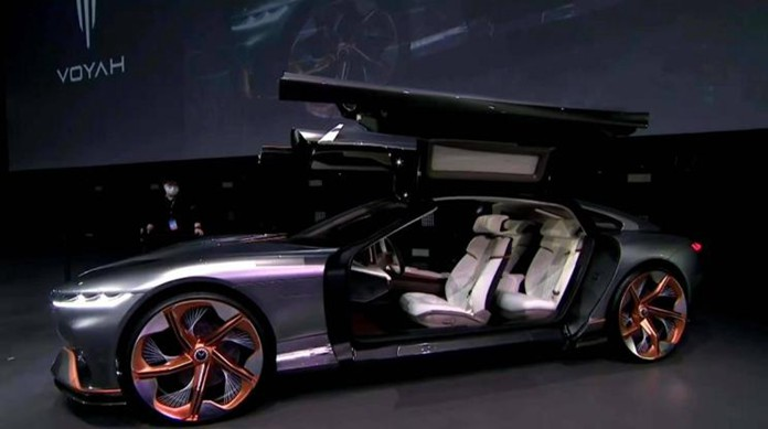 Dongfeng's High-end EV brand LANTU Debuted Its first Concept Car i-Land