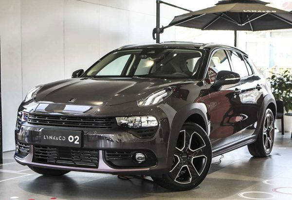 2020 Lynk & Co 02 Technical Specs