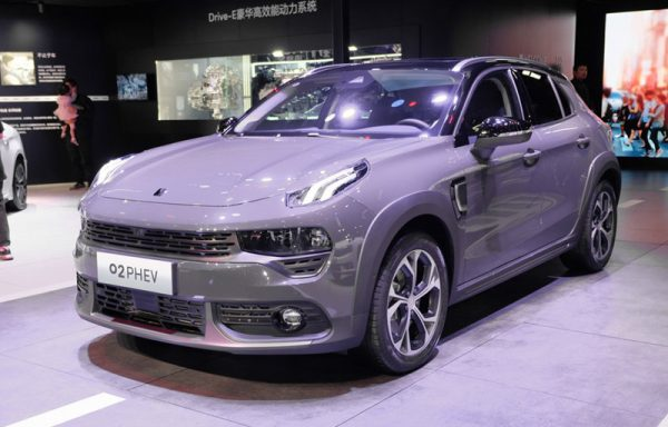 2020 Lynk & Co 02 PHEV Technical Specs