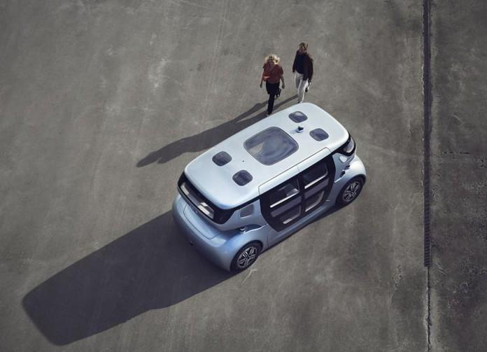 NEVS released Sango autonomous driving commuter car official images
