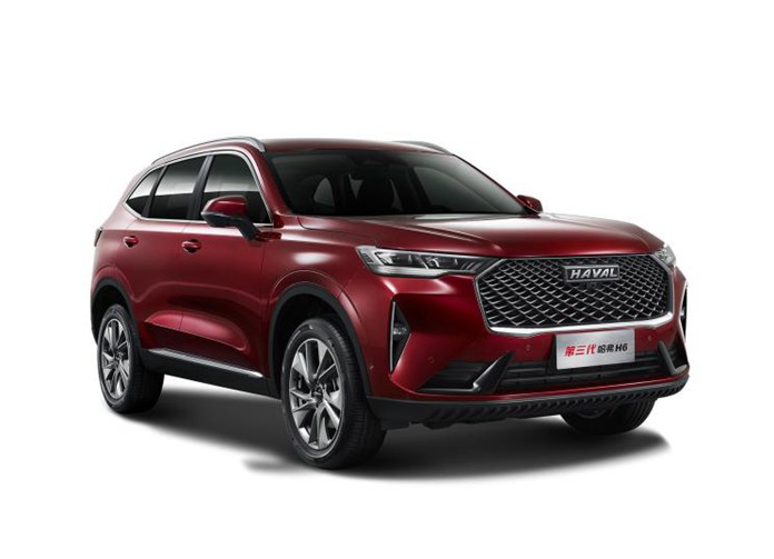 New-gen Haval H6 official images spotted by GWM
