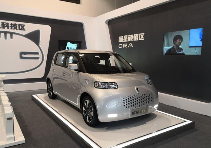 "GWM ORA ""White Cat"" Goes on Chinese Market"