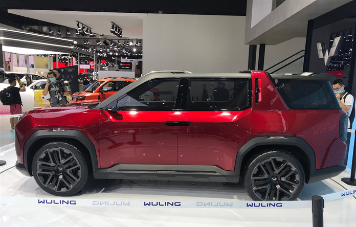 SGMW Wuling Hongguang X Concept SUV Made Debuted on Chengdu Show