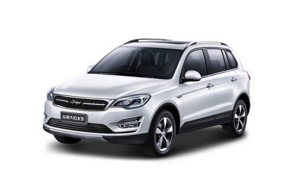 2018 Zotye Damai X5 (Domy X5) Technical Specs