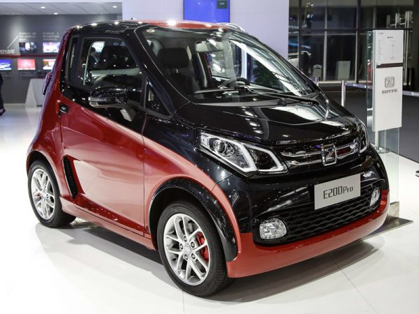 2018 Zotye E200 (EV) Technical Specs