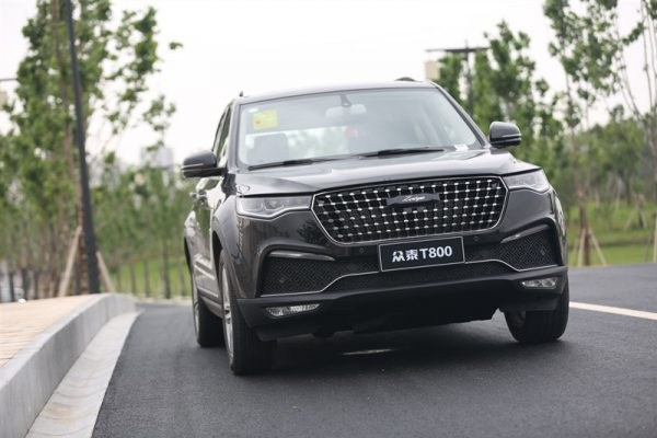 2018 Zotye T800 Technical Specs
