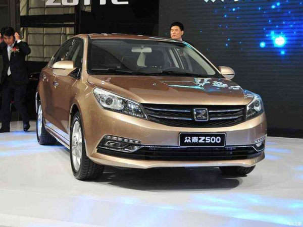 2016 Zotye Z500 Technical Specs