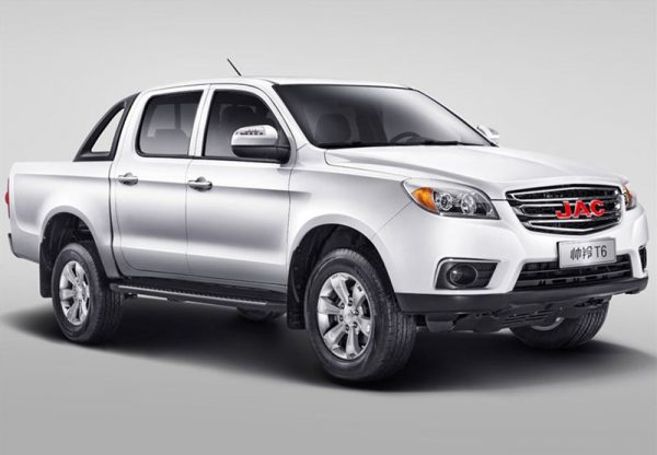 2017 JAC ShuaiLing T6 Pickup Technical Specs
