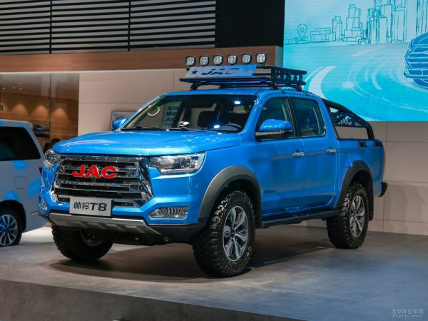2020 JAC ShuaiLing T8 Pickup Technical Specs