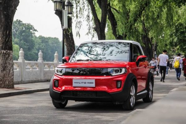 2019 BAIC Beijing LITE R300 (EV) Technical Specs