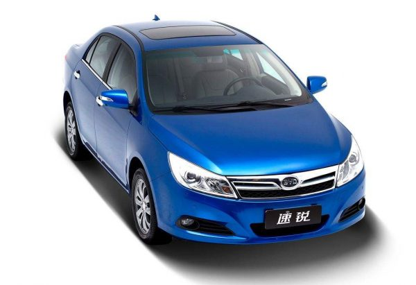 2018 BYD Surui Technical Specs