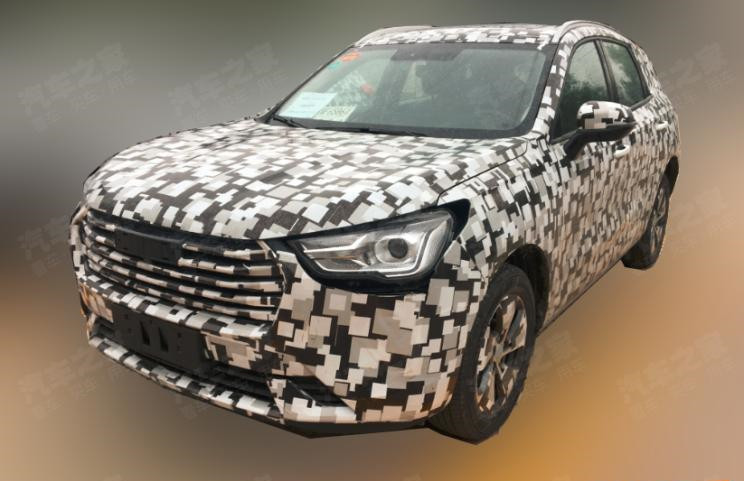 Ready for mass production, Haval Concept H test car spy photos leaks on the Internet