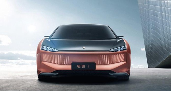 Evergrande's vehicle brand Hengchi debuted 6 new cars in China
