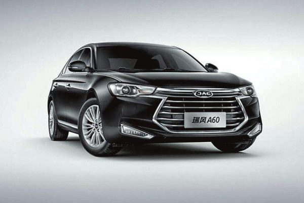 2017 JAC Refine (Ruifeng) A60 Technical Specs