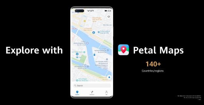 Huawei officially pushes Petal Maps to more than 140 countries