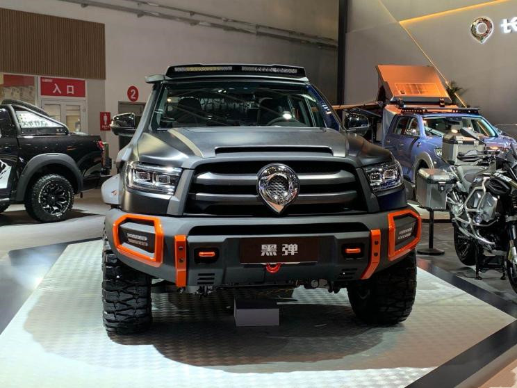 GWM PAO Pickup Black Bullet Edition will be pre-sold at the Shanghai Auto Show