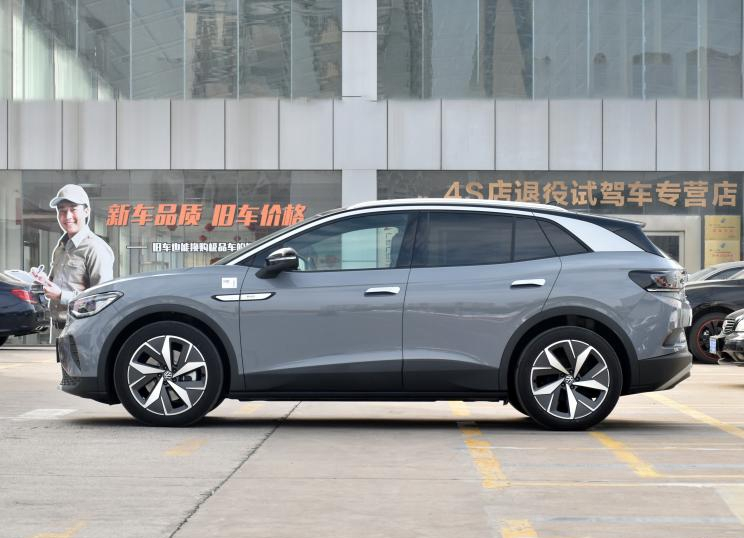 Volkswagen ID.4 CROZZ Starts to Deliver in the Chinese Market