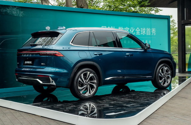 Geely Xingyue L global debut: the latest representative of China's car-making process