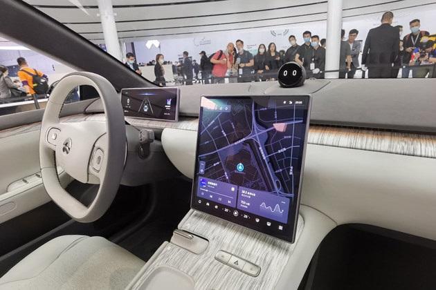 NIO ET7 Made Debut At 2021 Shanghai Auto Show
